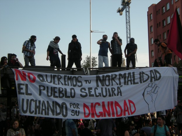 'Nie chcemy waszej normalności. Będziemy walczyć, aż nie odzyskamy swojej godności'